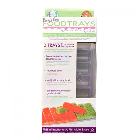 Sensible Lines Baby's First Food Trays - 2 Pack