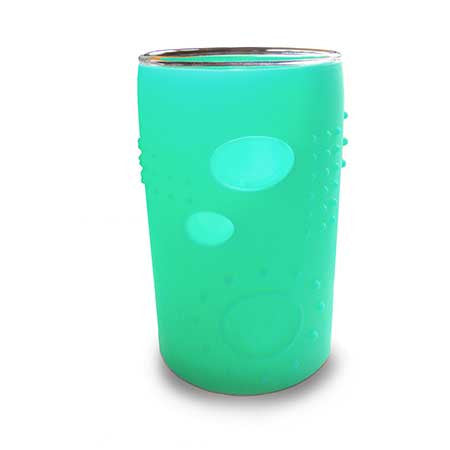 Siliskin Glass Cup for Kids 2pk
