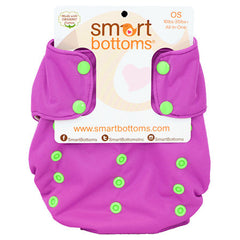 Grape Soda 3.1, Smart Bottoms Smart One One Size Cloth Diaper, www.bellylaughs.ca