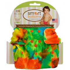Tiedye 3.1, Smart Bottoms Smart One One Size Cloth Diaper, www.bellylaughs.ca