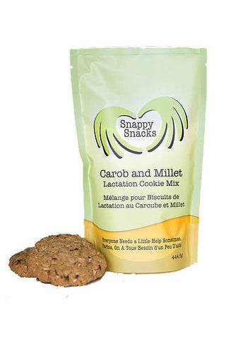 Snappy Snacks Carob  and Millet Lactation Cookies