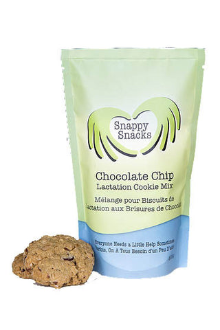 Snappy Snacks Chocolate Chip Lactation Cookies
