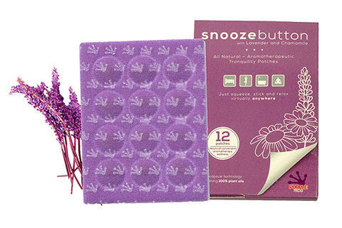 Purple Frog Snooze Button Patches