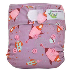 Lucy Rockets, Sweet Pea Newborn All in One Cloth Diapers, www.bellylaughs.ca