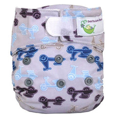 Moto Mopeds, Sweet Pea Newborn All in One Cloth Diapers, www.bellylaughs.ca