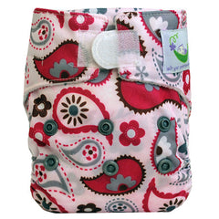 Paisley, Sweet Pea Newborn All in One Cloth Diapers, www.bellylaughs.ca