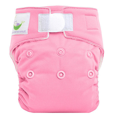 Pink, Sweet Pea Newborn All in One Cloth Diapers, www.bellylaughs.ca
