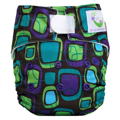 Retro, Sweet Pea Newborn All in One Cloth Diapers, www.bellylaughs.ca