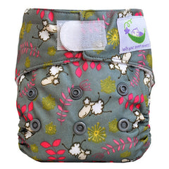 Sheep, Sweet Pea Newborn All in One Cloth Diapers, www.bellylaughs.ca