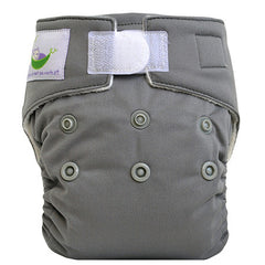 Silver, Sweet Pea Newborn All in One Cloth Diapers, www.bellylaughs.ca