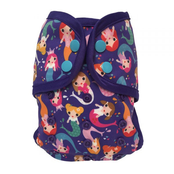 Mermaids, Bummis One-Size Swim Diaper, www.bellylaughs.ca