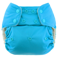 Teal, Blueberry One Size Simplex All-In-One Diaper, www.bellylaughs.ca