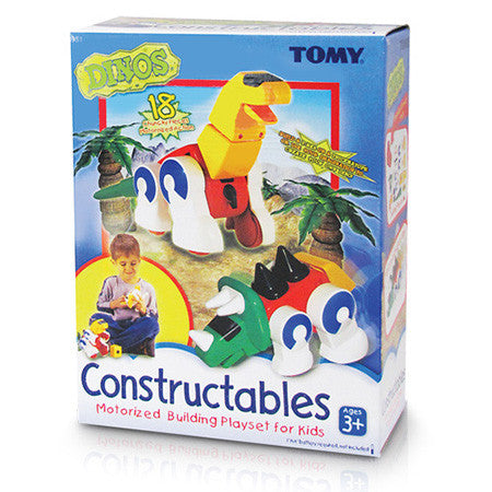 , Tomy Constructables Dinos Set, www.bellylaughs.ca