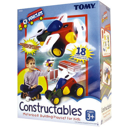 Tomy Constructables Vehicles Set