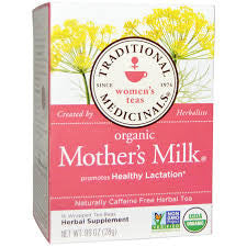 , Traditional Medicinals Organic Mothers Milk Tea, www.bellylaughs.ca