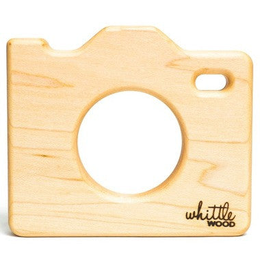 Whittle Wood Teether Whittle Selfie - Belly Laughs - A Children's & Maternity Boutique - Canada - 3