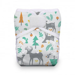Woodland, Thirsties One Size Snap Pocket Diaper, www.bellylaughs.ca