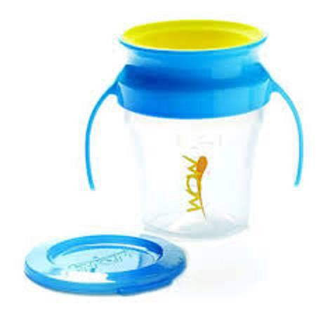 Blue/Yellow, Wow Cup Baby, www.bellylaughs.ca