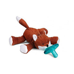 Fox, WubbaNub Infant Pacifier, www.bellylaughs.ca