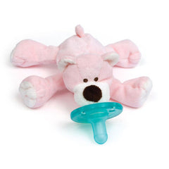 Pink Bear, WubbaNub Infant Pacifier, www.bellylaughs.ca