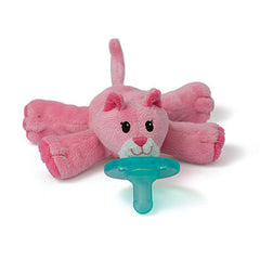 Pink Cat, WubbaNub Infant Pacifier, www.bellylaughs.ca