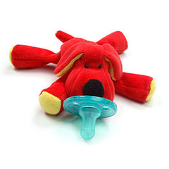 Red Puppy, WubbaNub Infant Pacifier, www.bellylaughs.ca