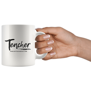 Casual Teacher Mug 2018-2019