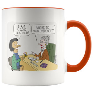 Where is Your Evidence?  (Mug)