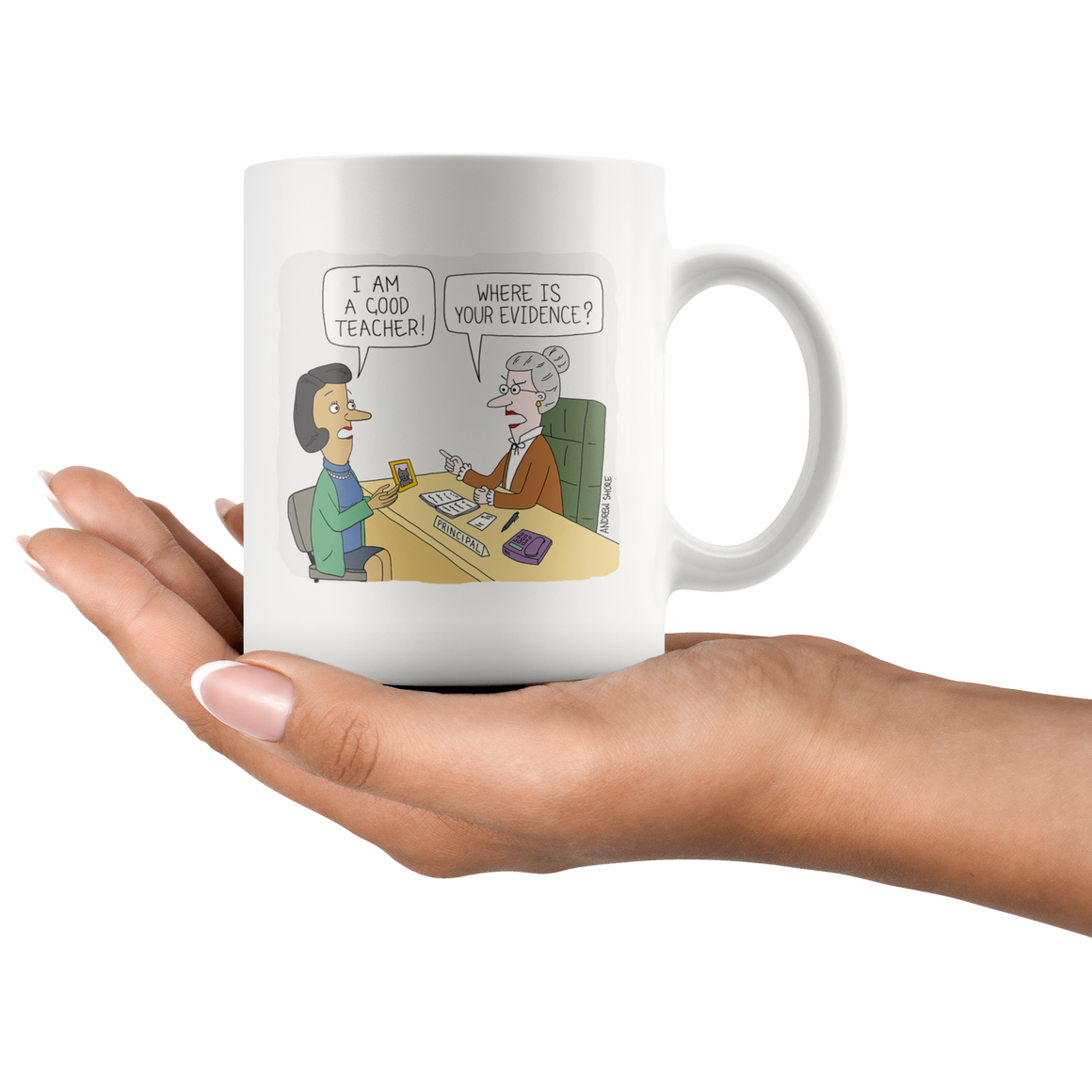 Teacher Evaluation Mug