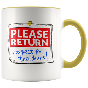 Return Respect 2.0 Color Mug