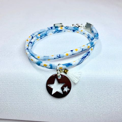 Liberty of London Bracelet Blue daisy