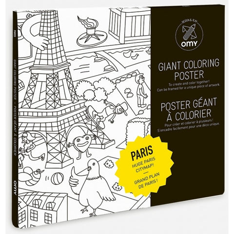 OMY Paris Poster