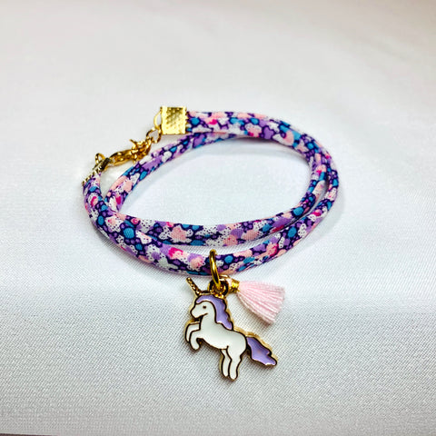 Liberty of London Bracelet Purple flower
