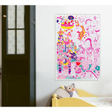 OMY Lily Unicorn Poster
