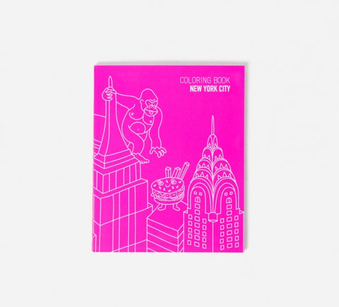 Colouring Book of New York