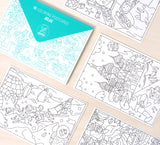 Coloring Postcards ATLAS