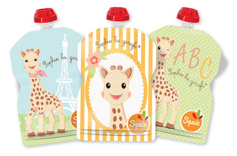 Sophie the giraffe pack of 3