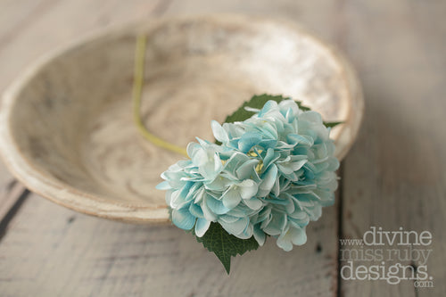 Blue Hydrangea SINGLE STEM