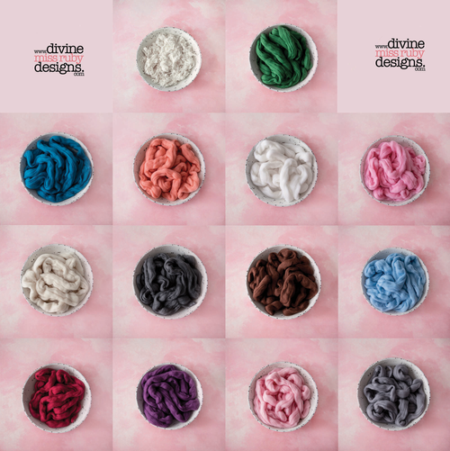 100% Merino Soft Roving Wool & Loose Curls ~Full Collection~
