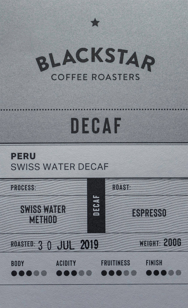 Honduras Swiss Water Decaf