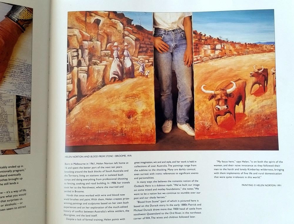 1995 Featured in Bill Bachman's 'Local Colour' Book
