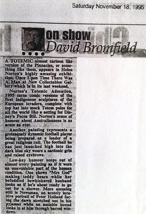 1995 David Bromley Review - The West Australian