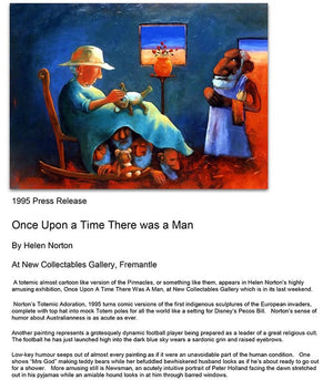 1995 Once Upon a Time - Press Release