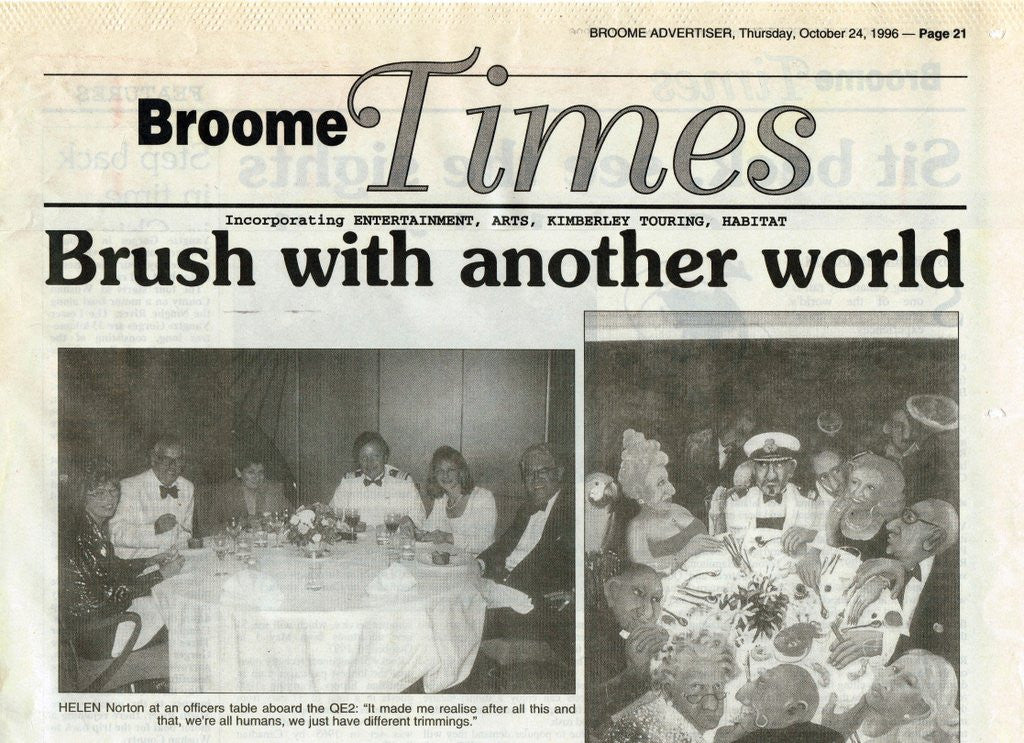 1996 Brush With Another Life - Sheila Foster Nixon - Broome Times