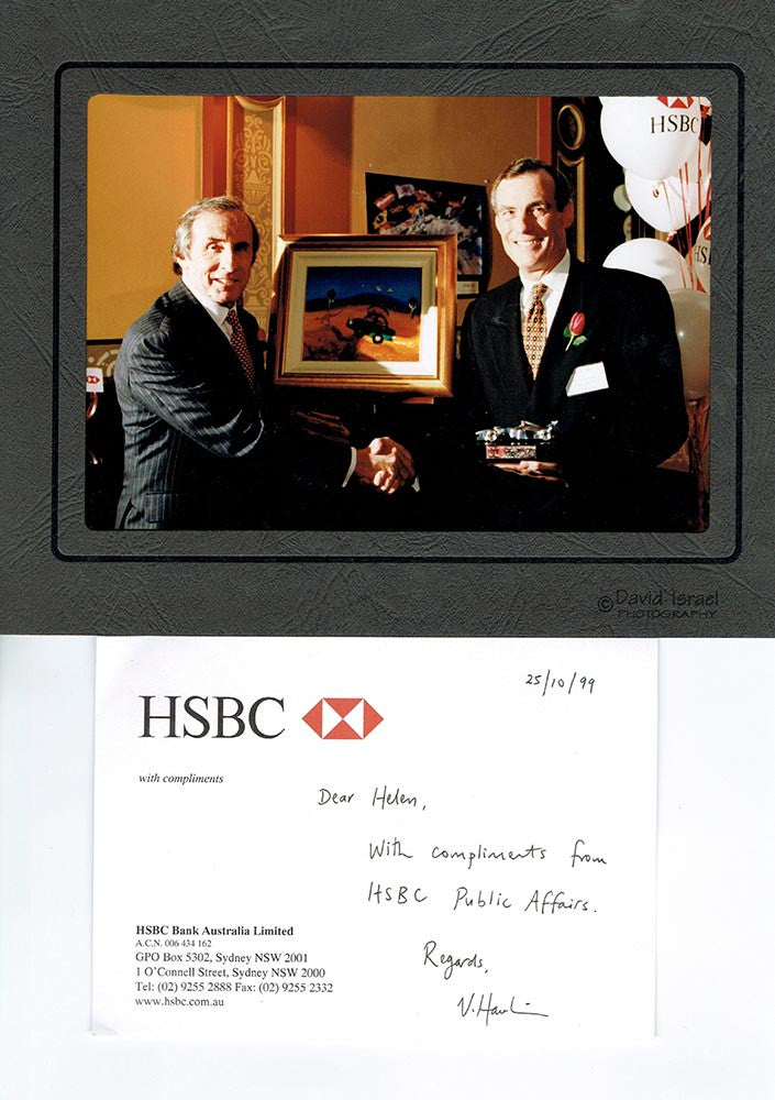 1999 HSBC and Jackie Stewart Commission