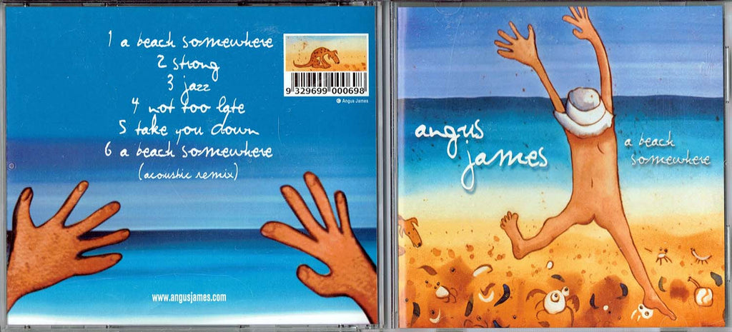 2001 Angus James CD Cover