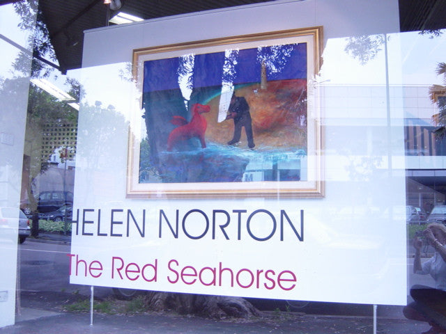 2003 The Red Seahorse - Commerford Gallery Sydney