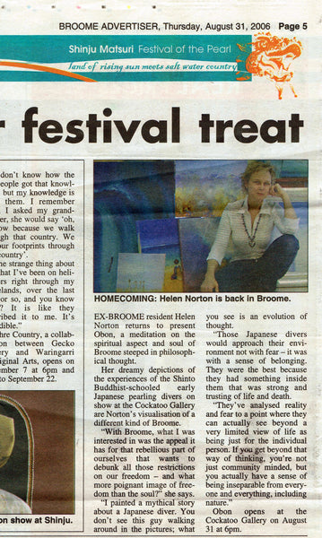 2006 Broome Advertiser