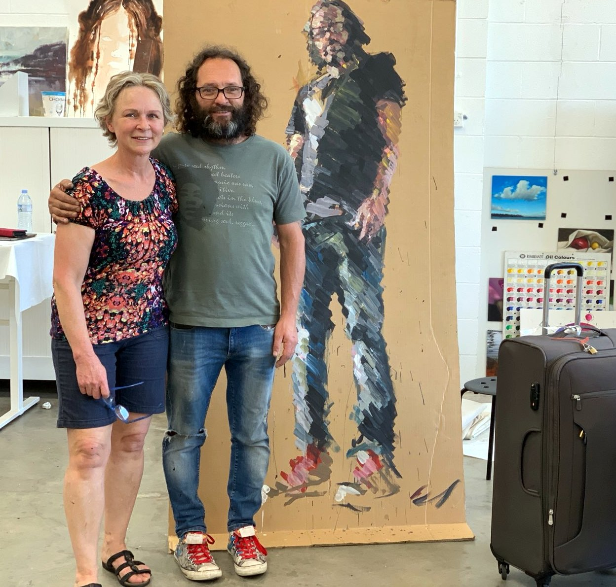 A Workshop with Daniel Butterworth at Brisbane Painting Classes