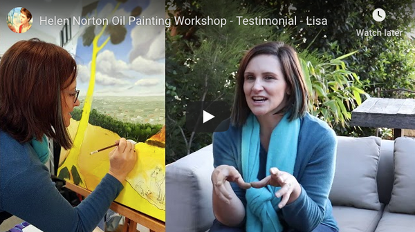 Lisa Testimonial After Oil Painting Workshop